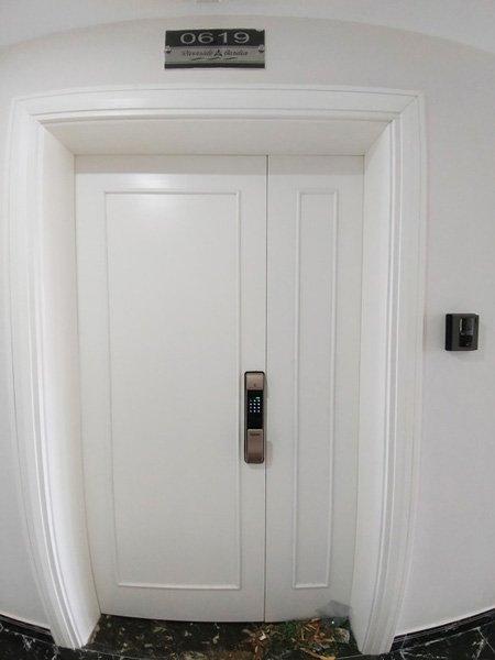 khóa cửa vân tay thông minh kaadass