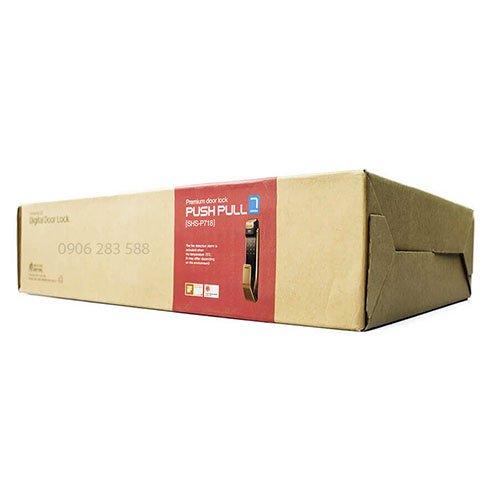 Khui Hộp & Demo Khóa Cửa Vân Tay Samsung SHS-P718