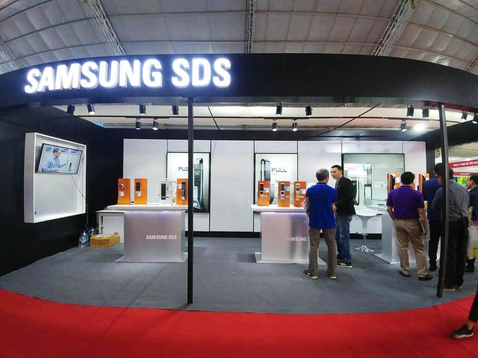 khóa điện tử Samsung-Vietbuild