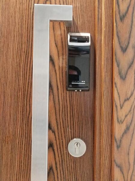 khóa cửa điện tử vân tay gateman wf20