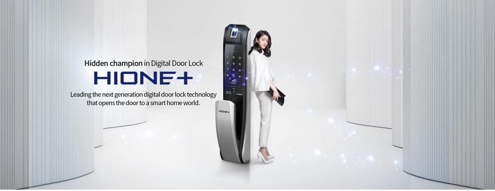 Giới Thiệu Hãng Khóa Điện Tử Hione – Hàn Quốc