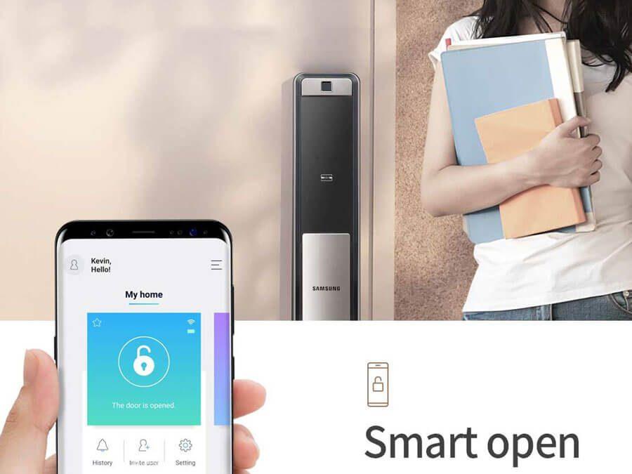 Hướng Dẫn Kết Nối Module WIFI cho Khóa Vân Tay Samsung SHP-DH609