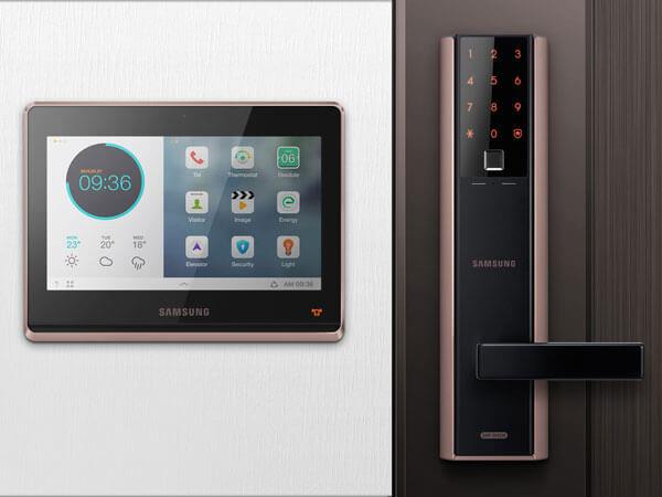 Màn hình và khóa vân tay Samsung SHP-HB700 & SHP-DH538